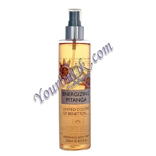 Benetton Energizing Pitanga Refreshing Body Mist 250ml