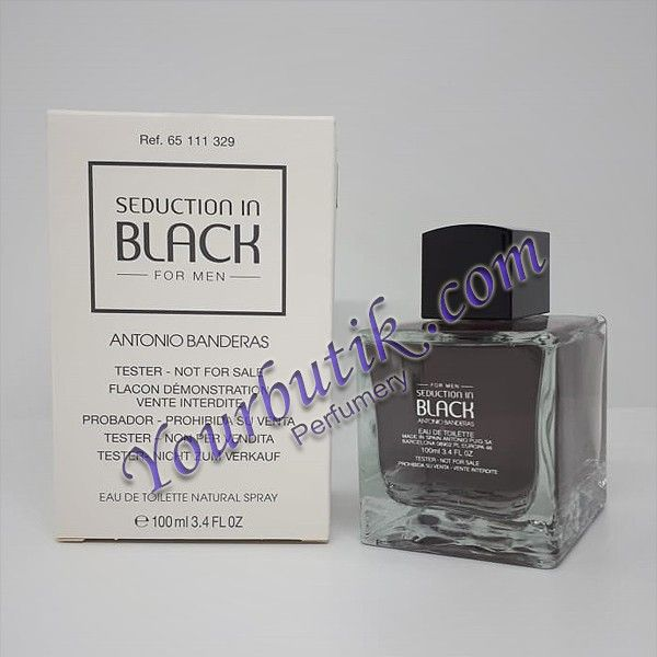 Antonio Banderas Seduction In Black Men Tester EDT 100ml